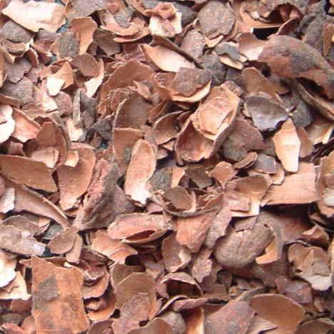 Grobe Kakaoschalen, Naturdünger