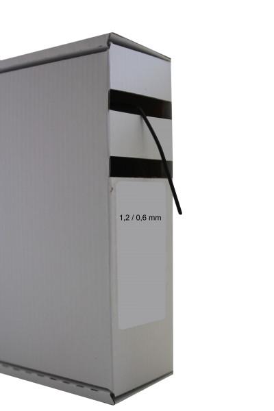 Schrumpfschlauch 1,2 - 0,6 mm