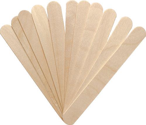 Mundspatel, Rührholz, Rührstab, 15 cm Holzspatel,
