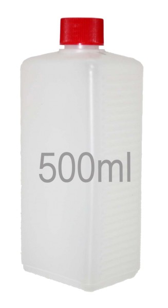 500 ml  Leerflasche HDPE