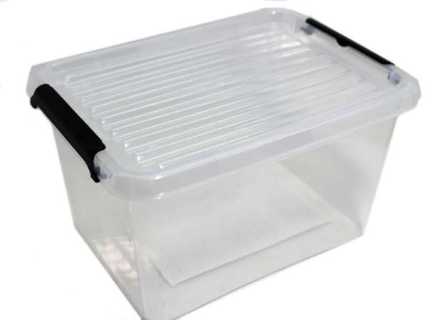 2 Liter Kunststoff Box mit Klemmdeckel