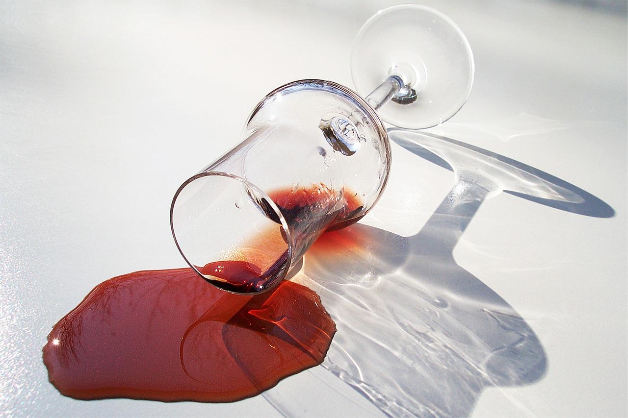 rotwein-Glas