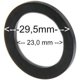 Flachdichtung 29x23x2 mm